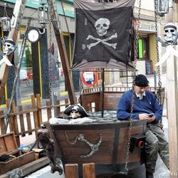 Moderne piraat....
