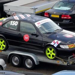 Saab 9 3  Junkyardrace