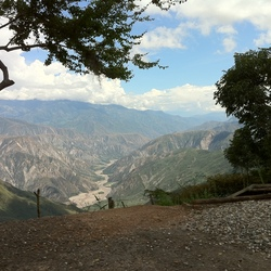 Chicamocha Canyon Colombia