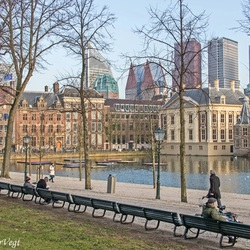 Zonnig in Den Haag