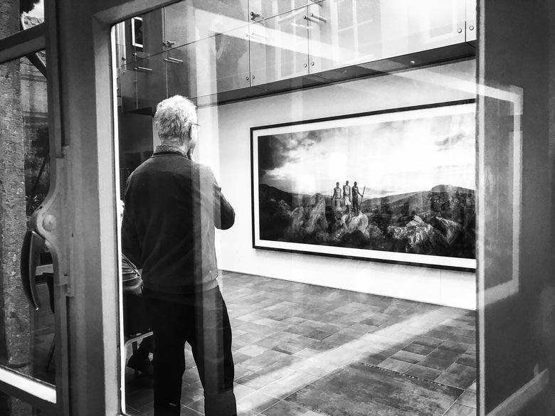 You're being watched 28 - Het museum aan het Vrijthof in Maastricht heeft een aantal maanden een prachtige foto-expositie van de Amerikaanse fotograaf