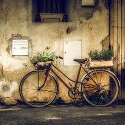 Oude fiets 2018