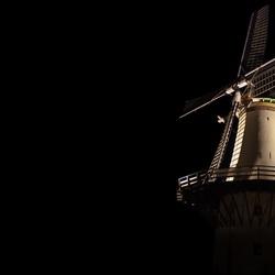 Benhuizen Molen at night