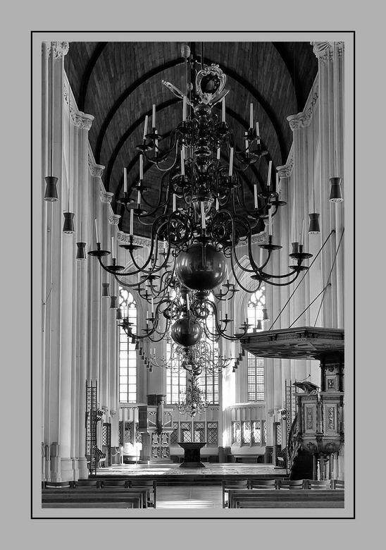 St Stevenkerk Nijmegen - Zomaar een foto van het  interieur van de St Stevenskerk in Nijmegen.....