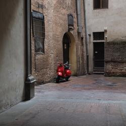 Steegje in Siena