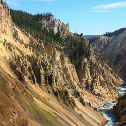 Yellowstone river USA