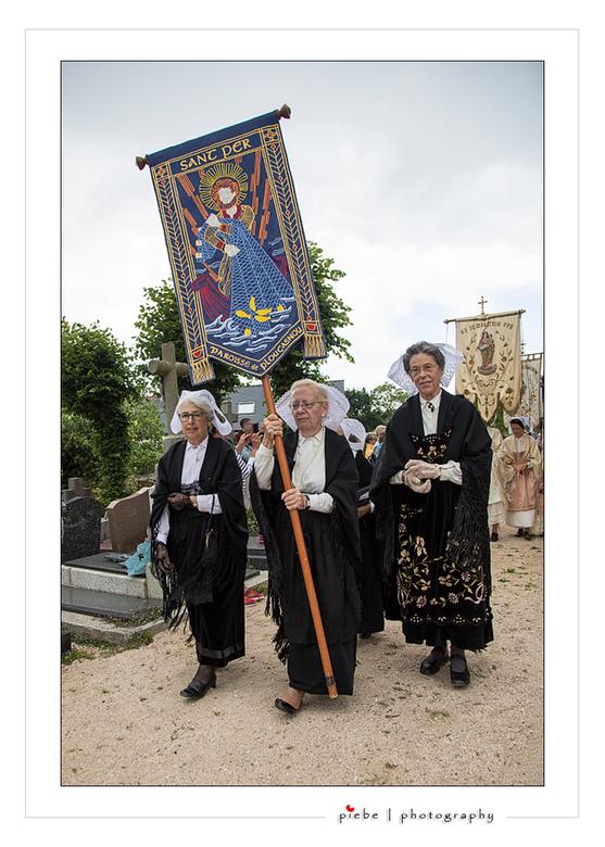 Processie St. Jean de Luz Frankrijk