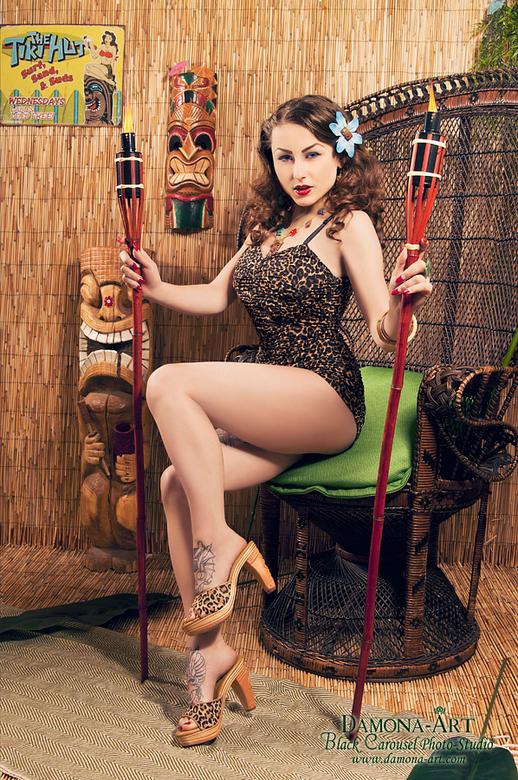 Tiki Queen - In &#039;t groot bekijken graag.<br /> Voor deze moest ik een tijdje wachten om hem online te tonen, omdat hij deze week in een magazine