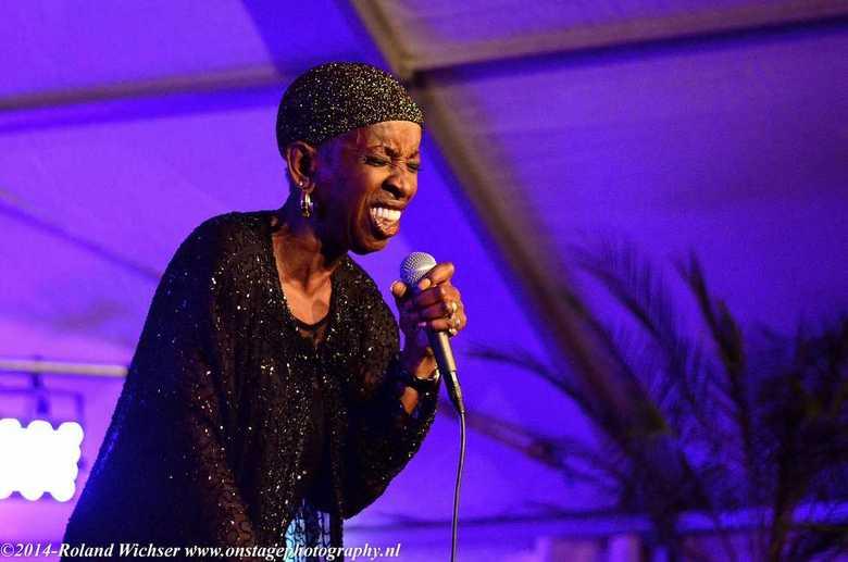 Madeline Bell - Madeline Bell tijdens Zoetermeer Jazz 2014