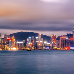 Skyline of Hong Kong VIII