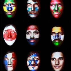Faces GLOW12
