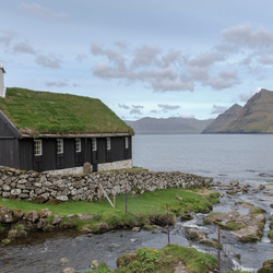 Kerk op Faroer eilanden