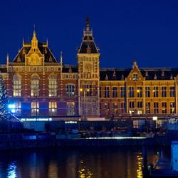 Flye's Eye Dome voor Amsterdam CS