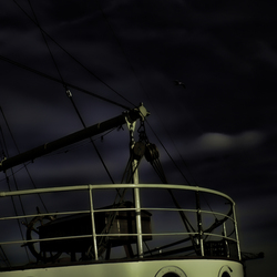 Moonlit Ship HDR
