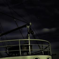 Moonlit Ship HDR
