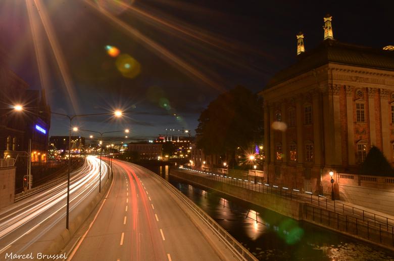Stockholm - weg door stockholm
