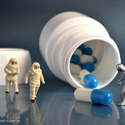 MINI - blue pills
