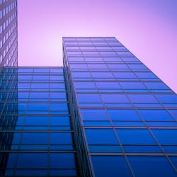 Almere in blue & purple
