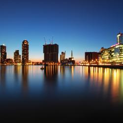 Blue Hour Rotterdam I