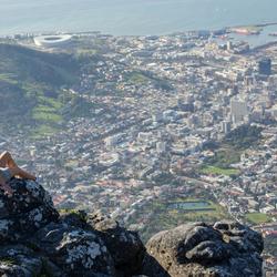 Uitzicht over Kaapstad