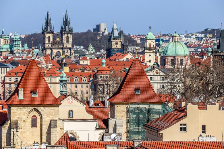Aerial view Prague... - Aerial view Prague...
