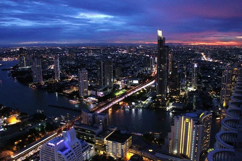 Bangkok - Vanaf Lebua Tower genomen.