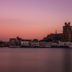 Sunset at Dordrecht