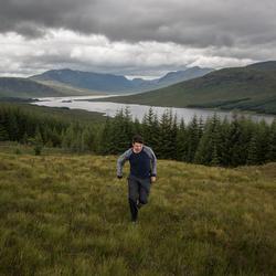 Schotland alleen in de wildernis