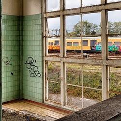 Oud raam