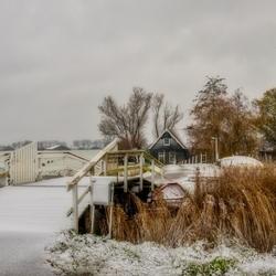 10 dec Sneeuw Berkmeer sfeerplaatje