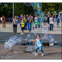 Zeepbellen vangen