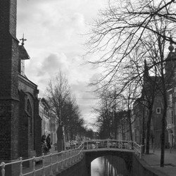 GRACHT IN DELFT 2008