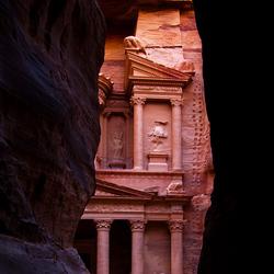 Petra te Jordanië