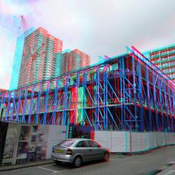 Hijsloods Zalmhaventoren Rotterdam 3D