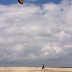Kite-walking