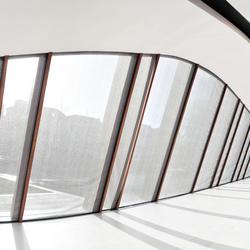 Panoramisch raam
