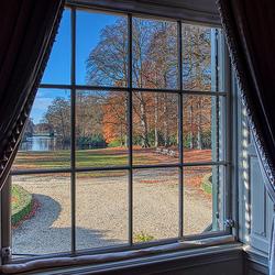Gardenview from castle Groeneveld