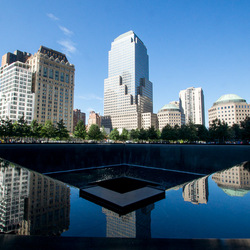 9/11 Memorial site - Reflextion pool