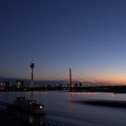 Düsseldorf at blue hour
