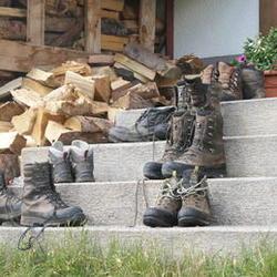 stilleven met schoenen
