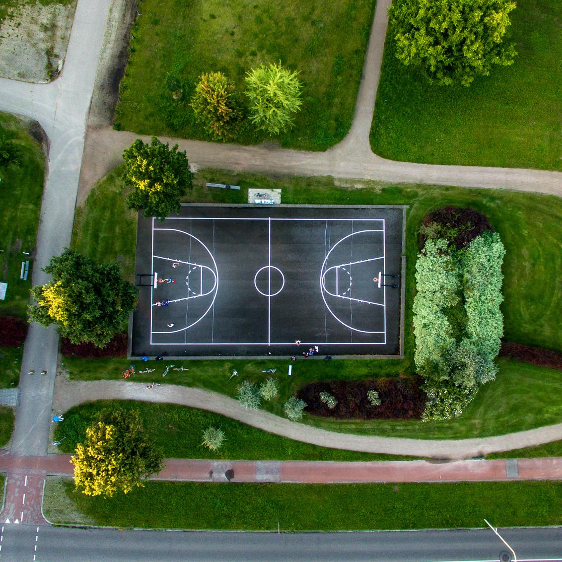 Basketbalveld van Boven