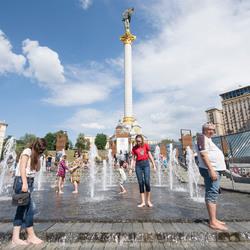 Kiev - Maidan plein