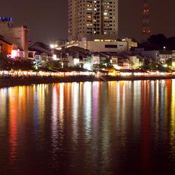 Lichtparade reflectie