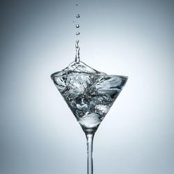 Martiniglassplash