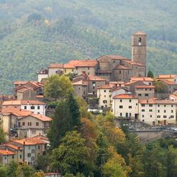 Toscaans bergdorp