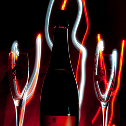 Lightpainting - Champagne