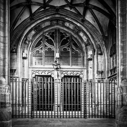 Church entrance Nijmegen