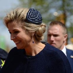 Koningin Maxima in Tilburg