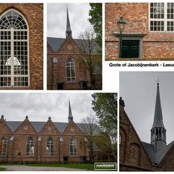 Collage Jacobijnenkerk-Leeuwarden