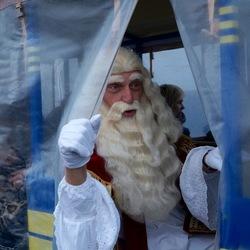 Sinterklaas in het land
